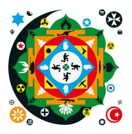 Poster-War-and-Peace-Mandala-Mood-White